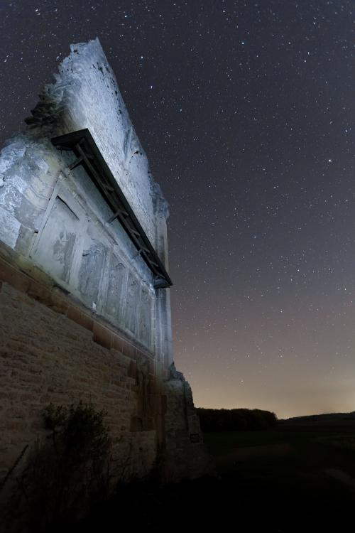 Anhäuser Mauer Nachtaufnahme 3