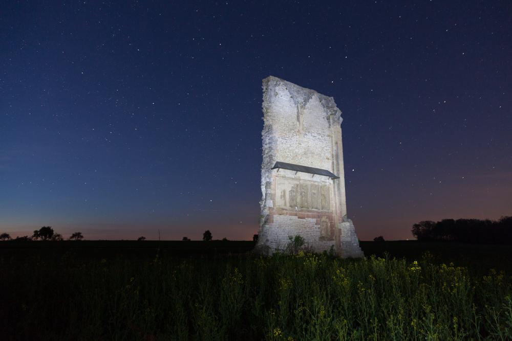 Anhäuser Mauer Nachtaufnahme
