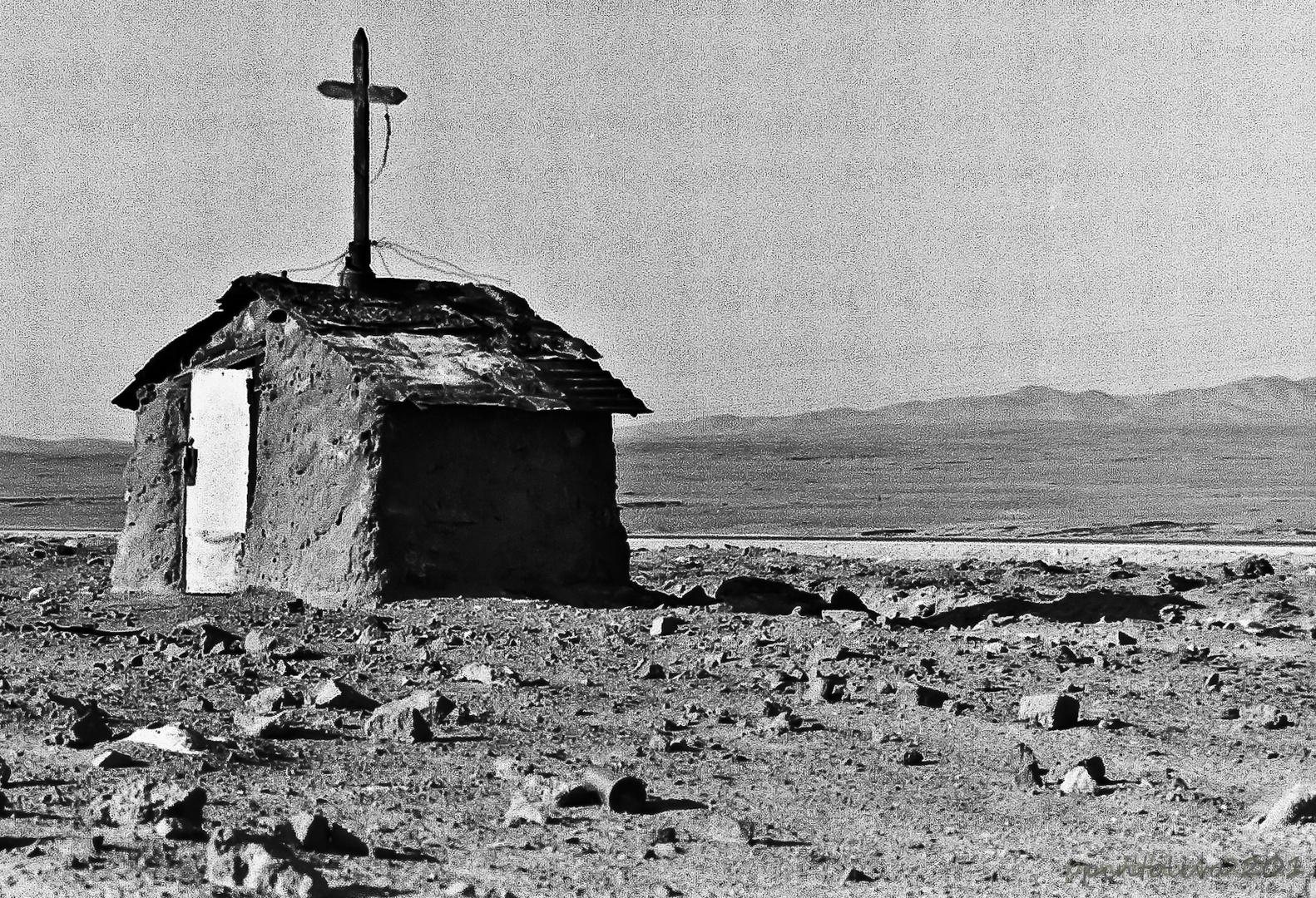 Animita en desierto norte grande