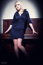 ...Anja am Klavier ;-)...