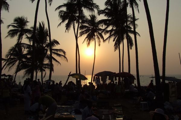 Anjuna Beach Wednesday Market