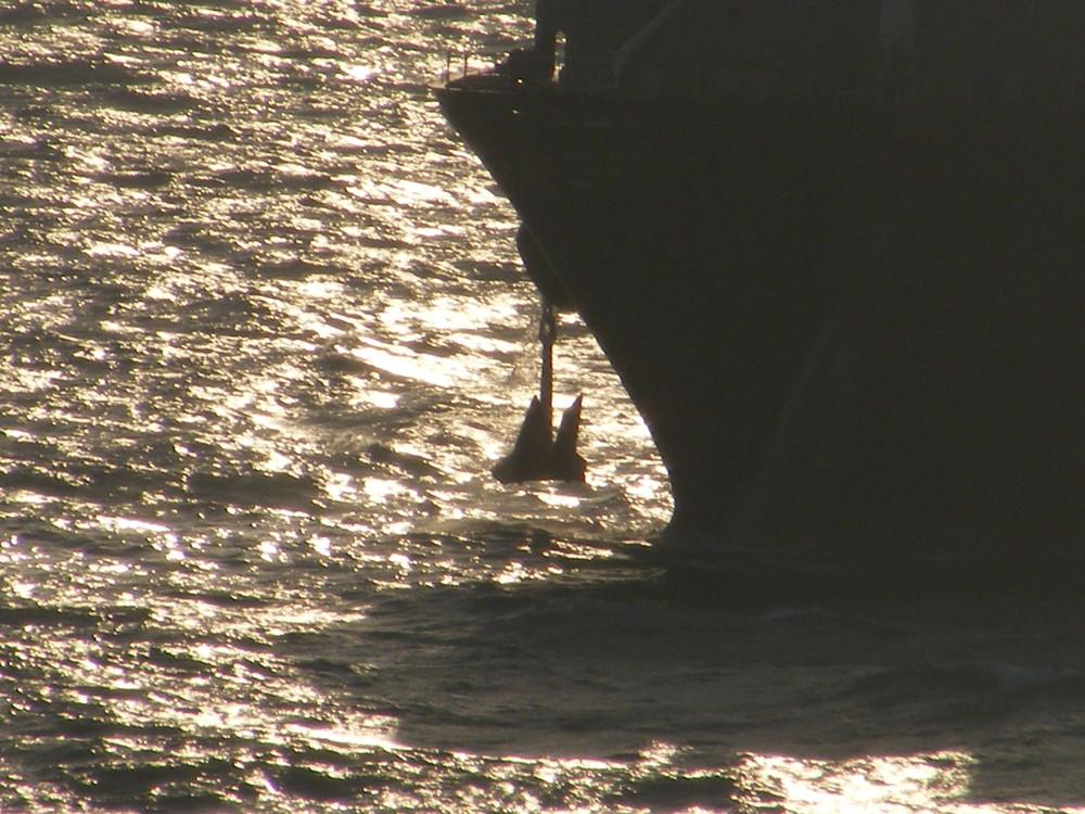 Anker lichten vor Suez