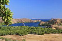 Ankern vor Rinca Island Komodo NP