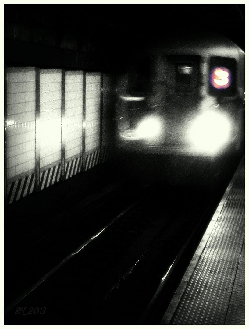 ...Ankunft am Ende des Tunnels...