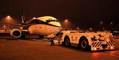 Ankunft am Flughafen München