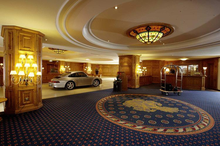 Ankunft im 5-Sterne Luxushotel