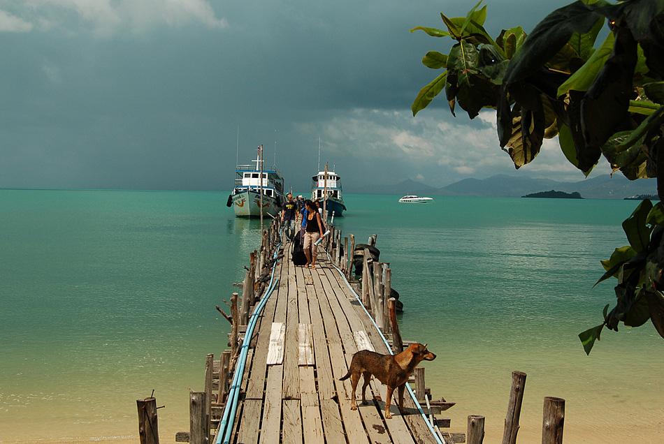 Ankunft im Golf von Thailand