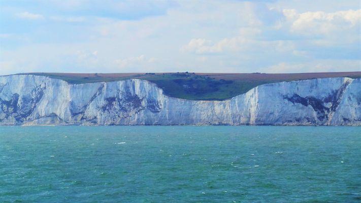Ankunft in Dover