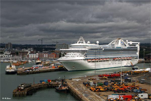 Ankunft in Southampton