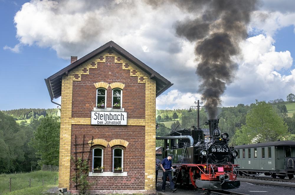 Ankunft in Steinbach