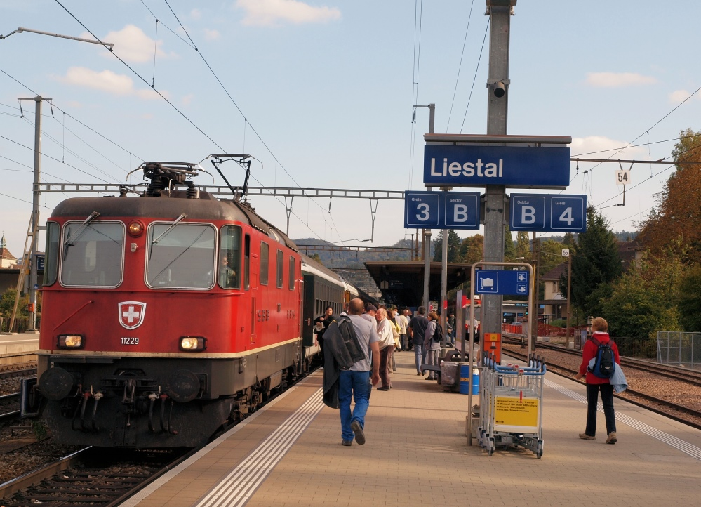 Ankunft Liestal Bahnhof