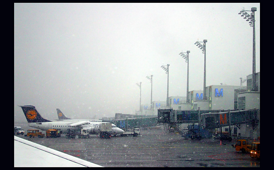 Ankunft München