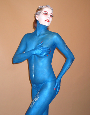 Anmut in Blau
