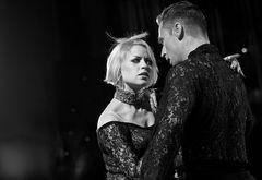 Anna Kravchenko&Jesper Birkehoj beim Paso Doble
