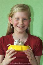 Anna-Maria und ihre Mäuse