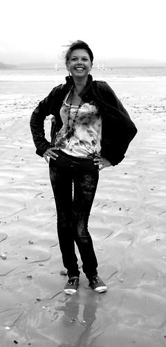 Anna, place de la Palu, Bretagne.