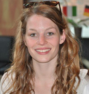 Anna Rossinelli, Teilnehmerin der Schweiz beim Eurovision Song Contest 2011