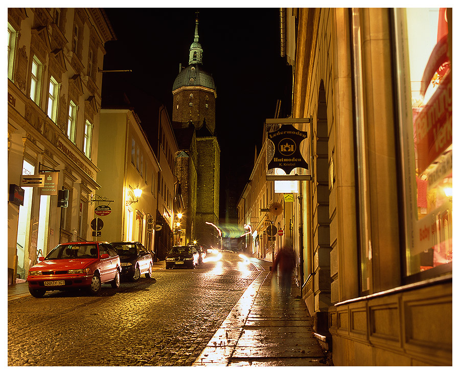 Annaberg_Buchholz (bei Nacht)