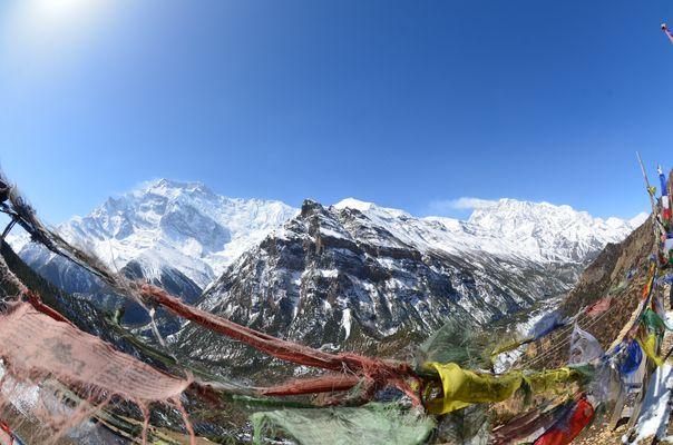 Annapurna II und Gangapurna