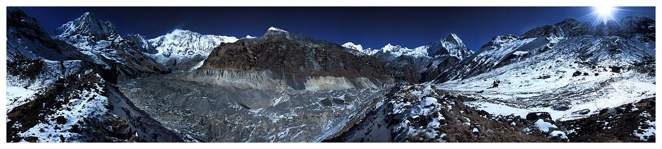 Annapurna-Massiv - Rundblick