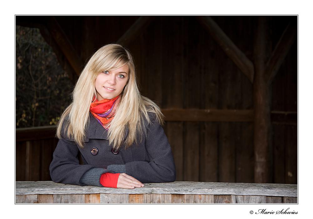 Anne auf dem Karlsberg