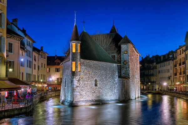 Annecy by night - Gefängnis