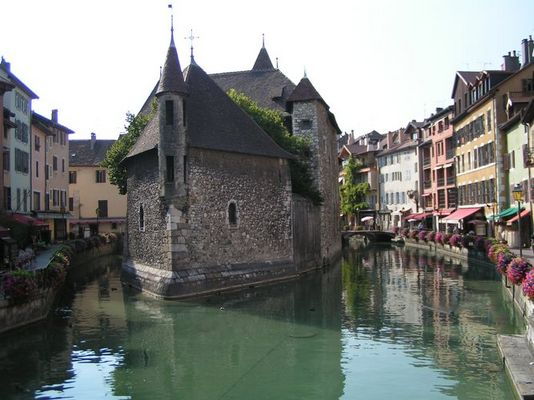 Annecy - Frankreich, südlich von Genf gelegen