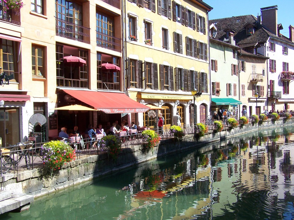 Annecy , le canal