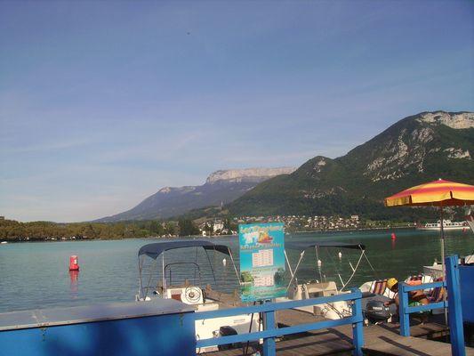 Annecy: le lac