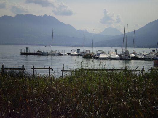 annecy(sur le lac)