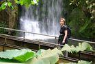 Annette im Urwald