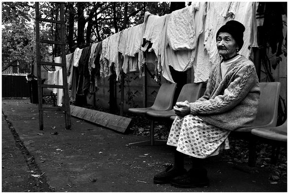 Anniczka und die Wäsche