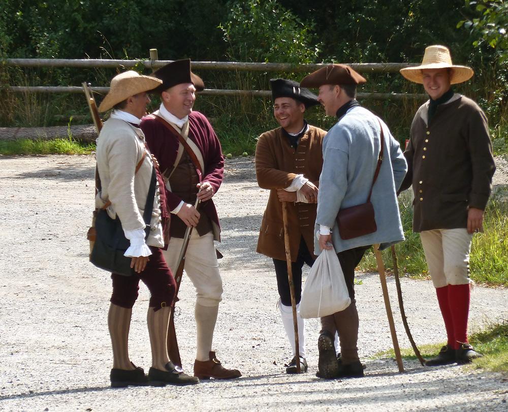 Anno 1762 -3- unterwegs mit C.Schorr