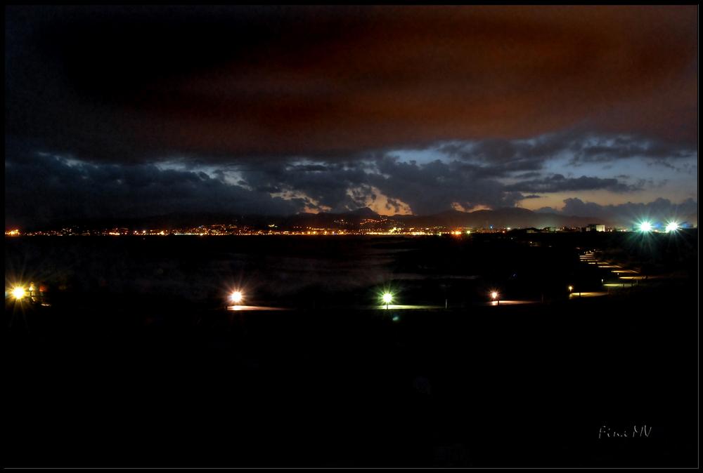 Anochece en Palma