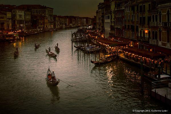 """""""Anochece en Venecia"""""""