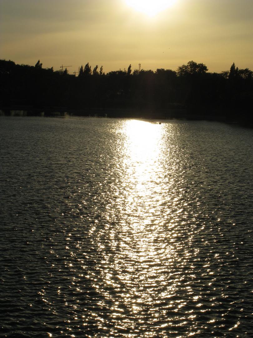 Anochecer en Polvoranca