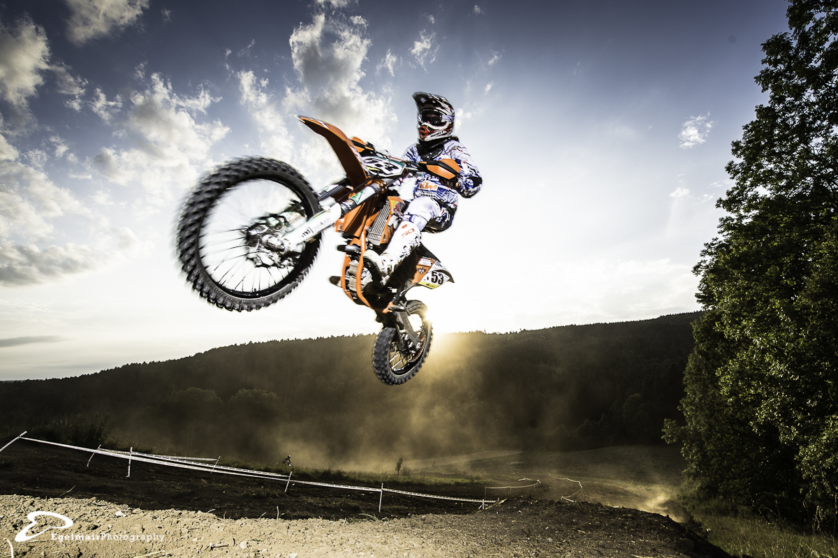 another shot of Reto Wanner on his KTM