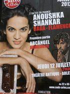 Anoushka Shankar in the Antique Amphitheatre