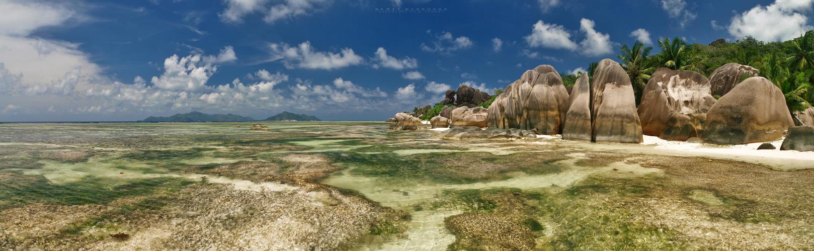 Anse Source d`Argent - La Digue Island - Seychelles 2014