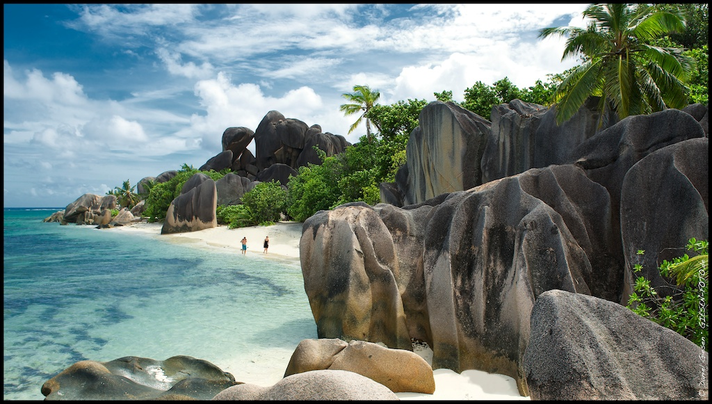 Anse Source D´Argent, La Digue, Seychellen