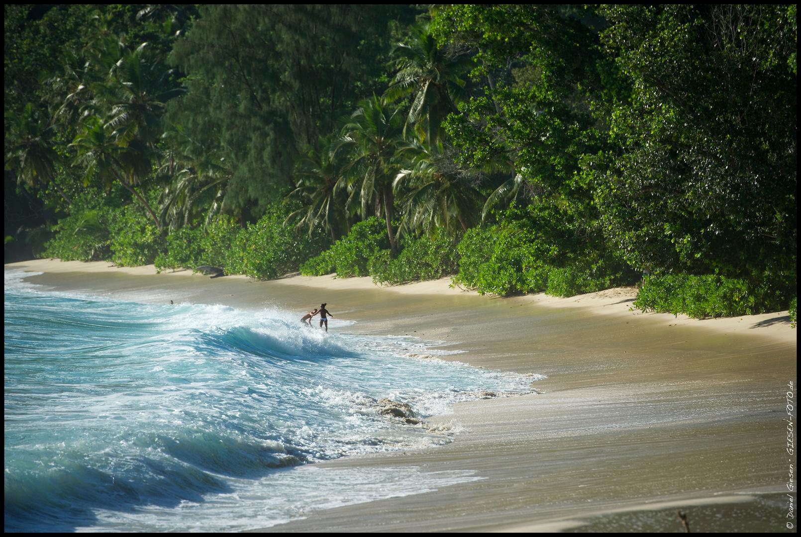 Anse Takamaka, Mahe Island, Seychellen
