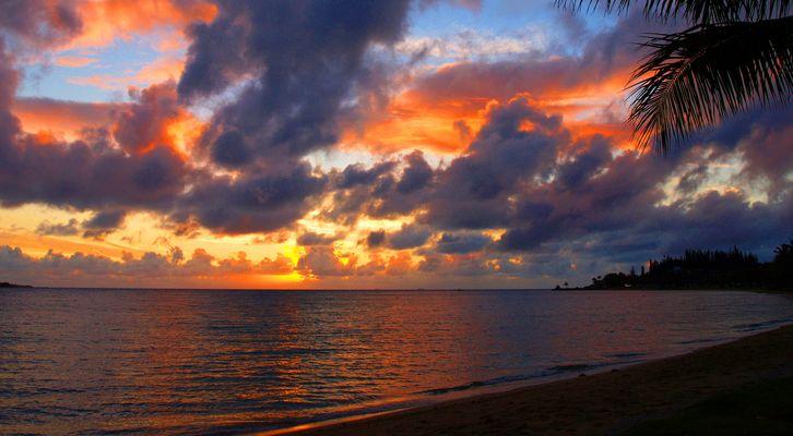 Anse Vata - Peu après le coucher du soleil