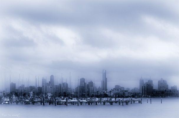 ° Ansicht einer Großstadt °