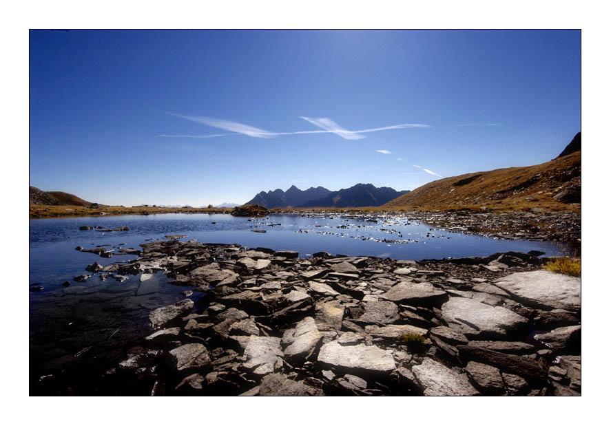 Ansicht eines Sees 5