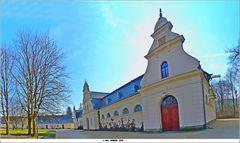 Ansicht vom Hof des Marstall in Bad Muskau  ..
