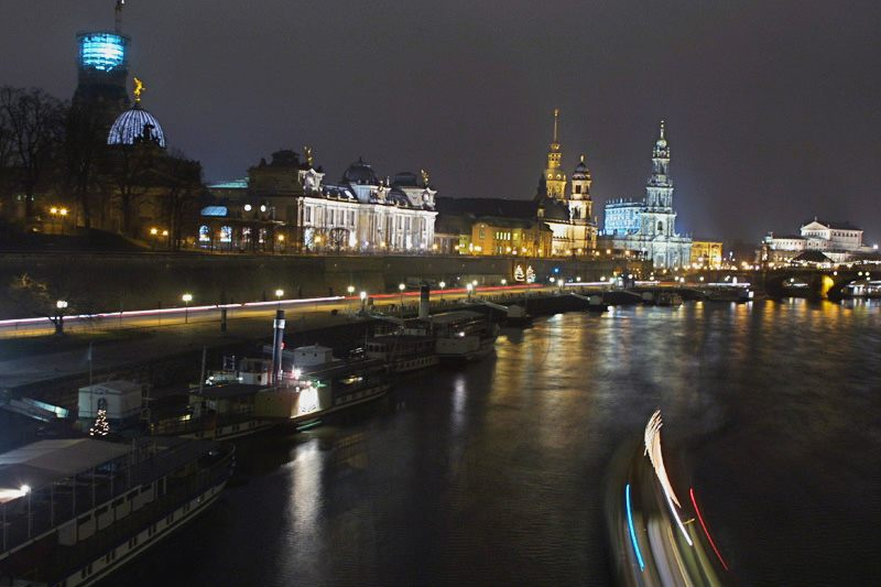 Ansicht von Dresden