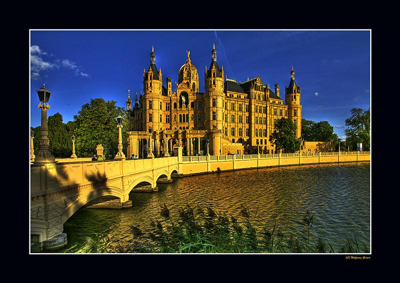 Ansichten des Schweriner Schlosses während der BUGA 2009/3