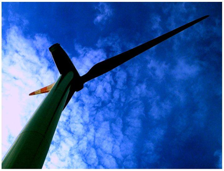 ... Ansichten eines Windrades ...