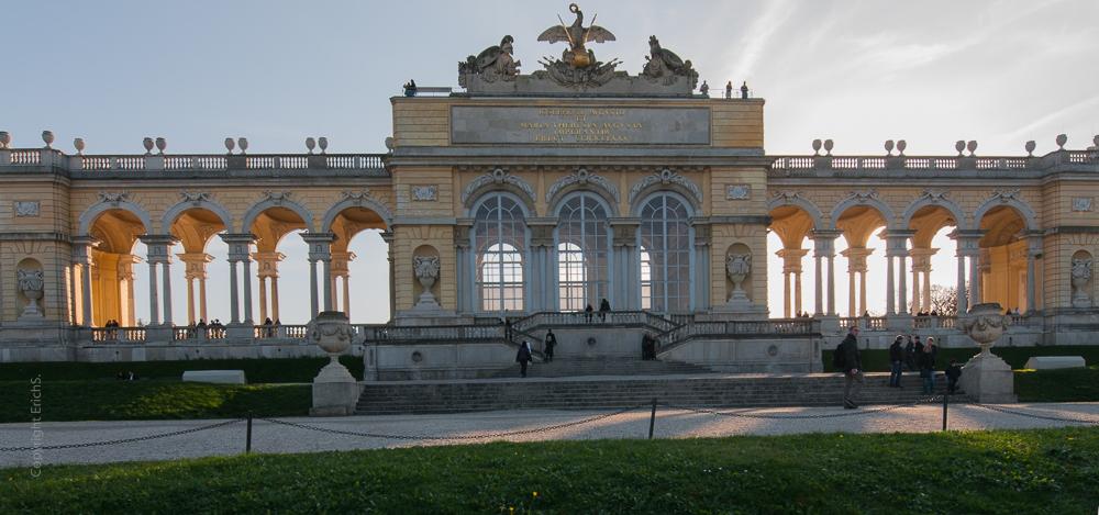 Ansichten Gloriette in Schönbrunn