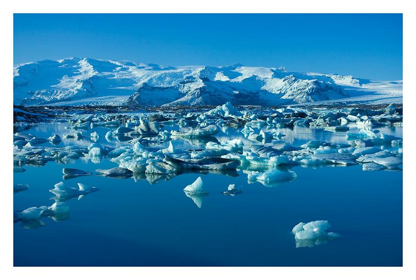 Ansichtskarte aus Island - Jökulsárlón
